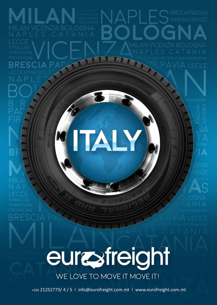 EuroFreight Italy Groupage Service